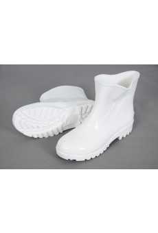 Bota Branca de PVC