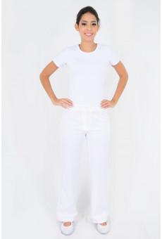 Calça Social Feminina Branca