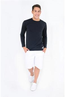 Camisa UV Manga Longa Preta