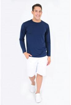 Camisa UV Manga Longa Marinho