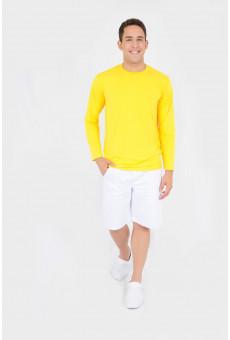 Camisa UV Manga Longa Amarela