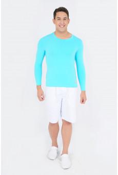 Camisa UV Manga Longa Verde Claro