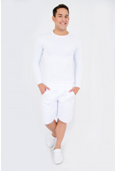 Camisa UV Manga Longa Branca