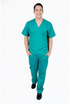 Camisa Decote V Unissex Verde