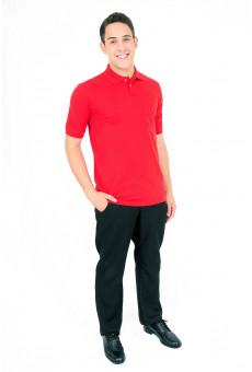 Camisa Polo Masculina Vermelha