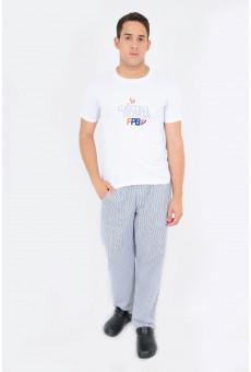 Camisa Malha Unissex Branca FPB