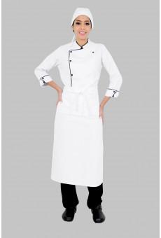 Kit Dolma, Calca, Avental e Chapeu de Chef