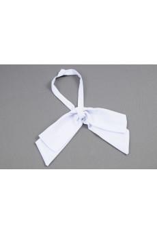 Gravata Laço Branca