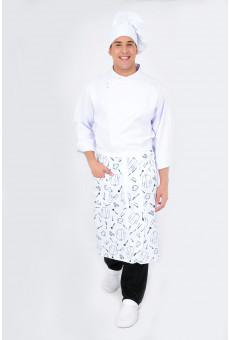 Avental Cintura Chef