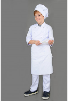 Kit Avental Cintura e Chapeu Chef Infantil