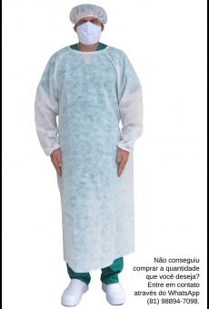 Avental Cirúrgico Descartável Curto