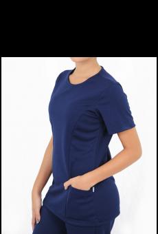 Pijama Cirúrgico Feminino Marinho