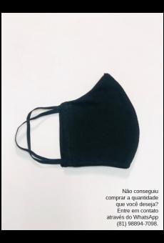 Máscara Malha Preta